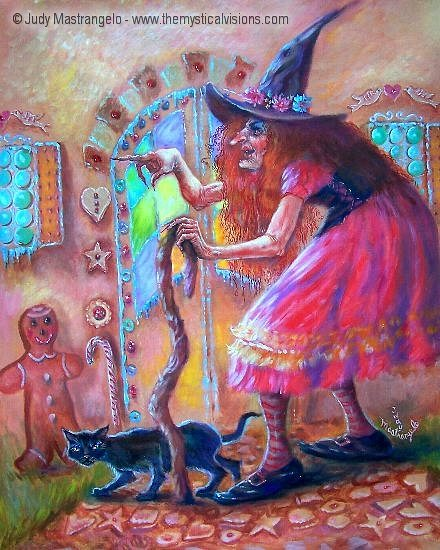 Gingerbread Witch-