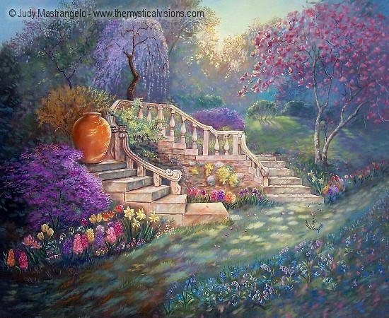 April Garden (brighter)