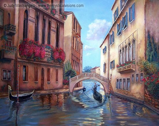 Venice with Bridge