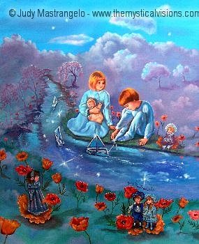 Boats On Silvery Streams-