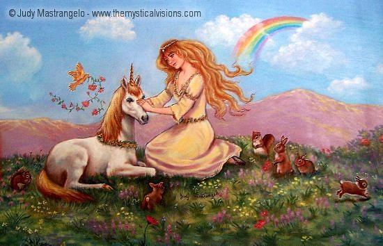 Princess And Unicorn-