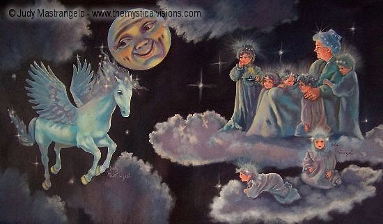 Moon and Grandmother Night-