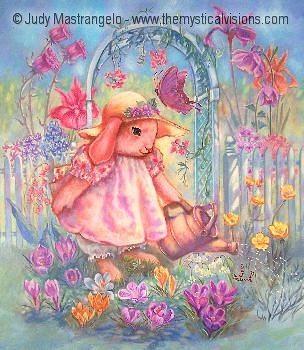 Buttercup Bunny's Garden