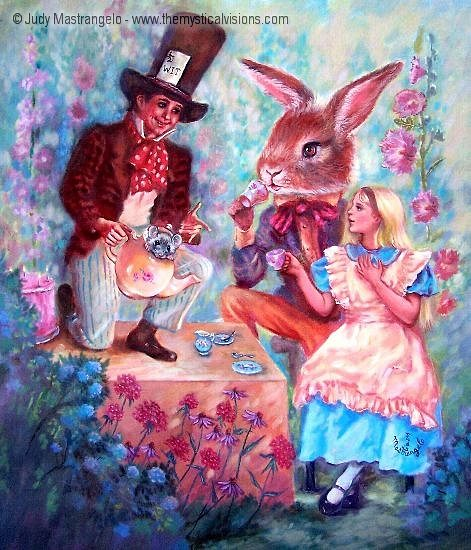 The Mad Hatter's Tea Party-