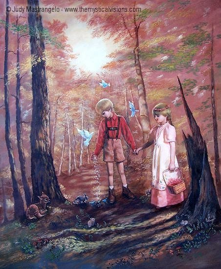 Hansel and Gretel Lost In the Woods-