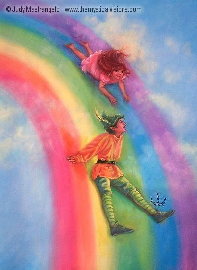 Sliding Down A Rainbow-