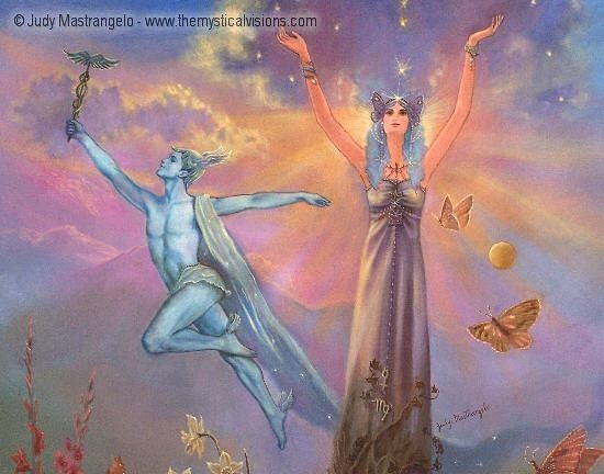 Virgo - Reaching For The Stars (middle detail)-