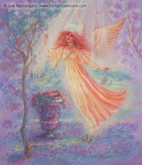 Angel of the Sacred Glen-