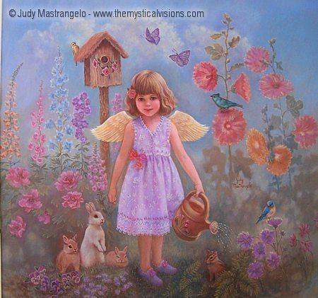Gardening Angel-