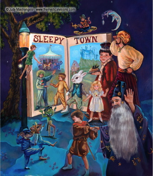 Into The Town Of Sleep-