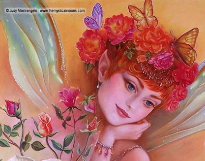 My Little Rosebud - Fairy Detail