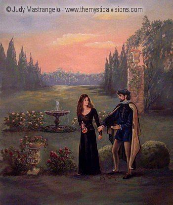 Juliet And Count Paris-