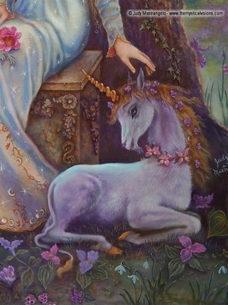 TWILIGHT MAGIC - Unicorn detail