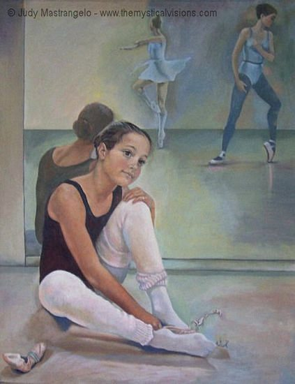 Young Dancer Dreaming
