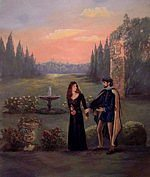 Juliet And Count Paris-