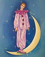 Pierrot Standing On the Moon